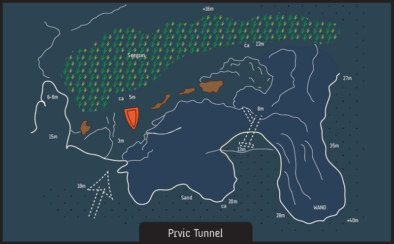 diving prvic tunnel