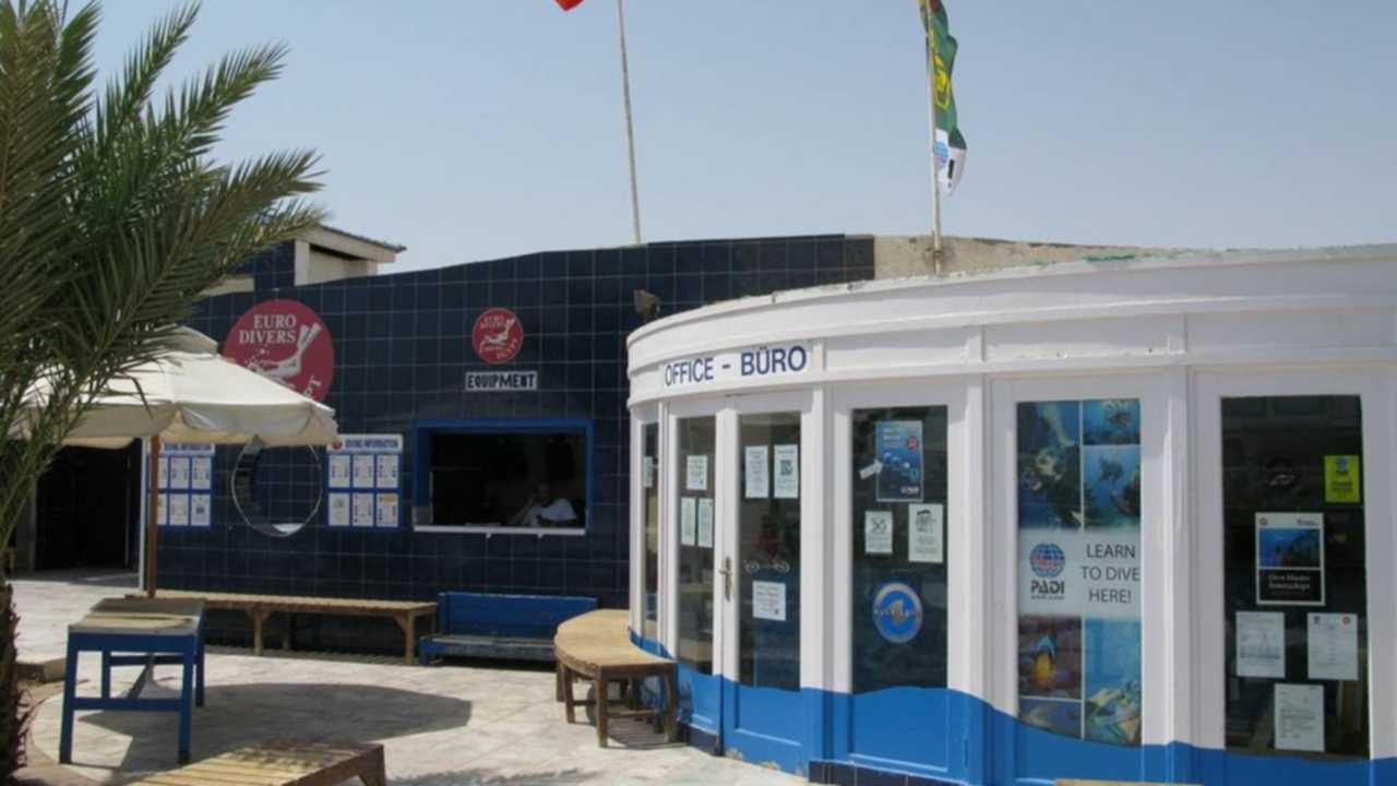 euro divers dive shop hurghada