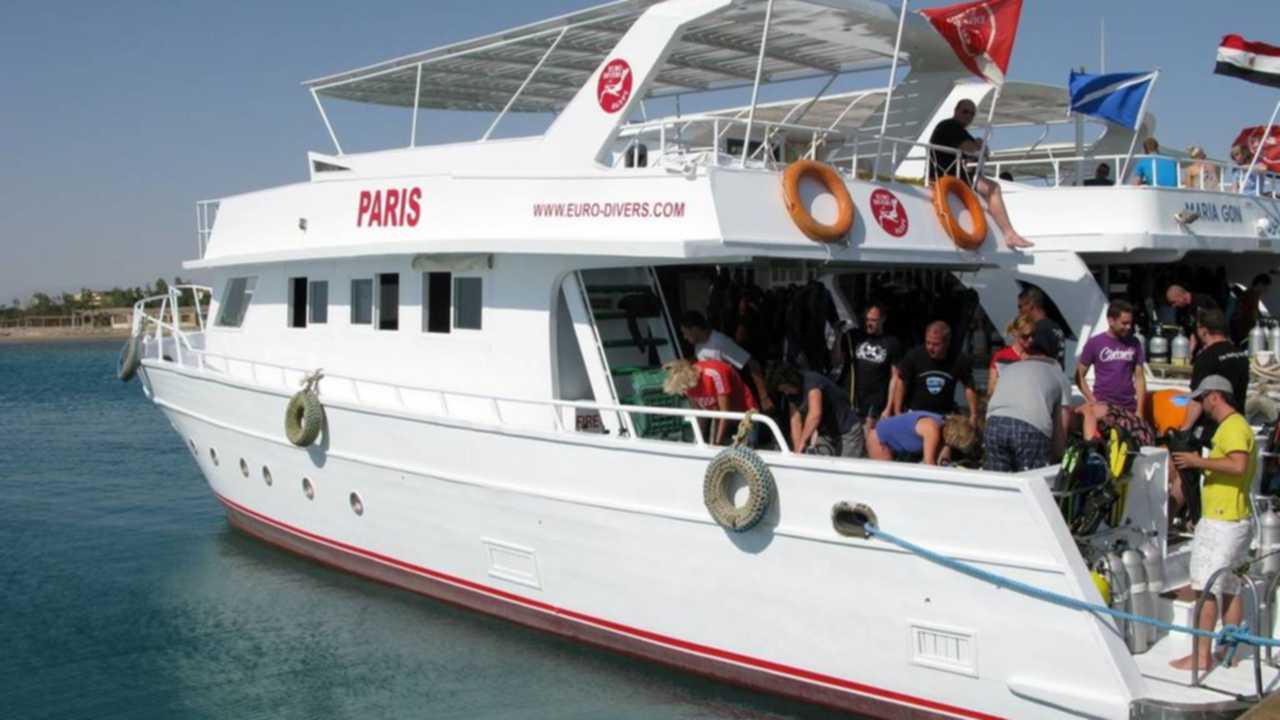 euro divers hurghada dive boat