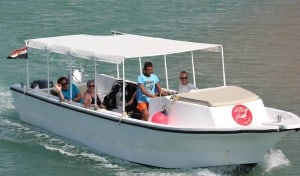 speed boat safari el gouna egypt