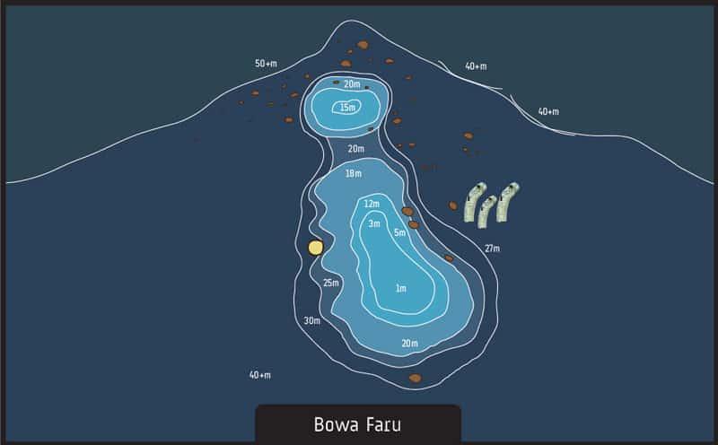 Scuba diving Maldives Bowa Faru