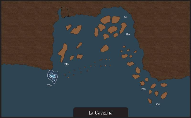 Scuba diving la caverna