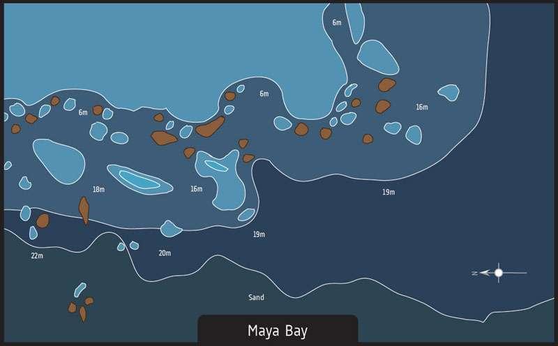 diving phuket maya bay