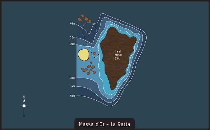 Scuba diving massa dor la ratta