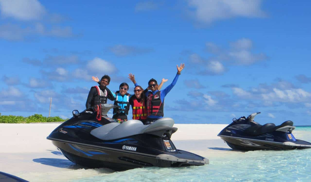 jet ski euro divers maldives