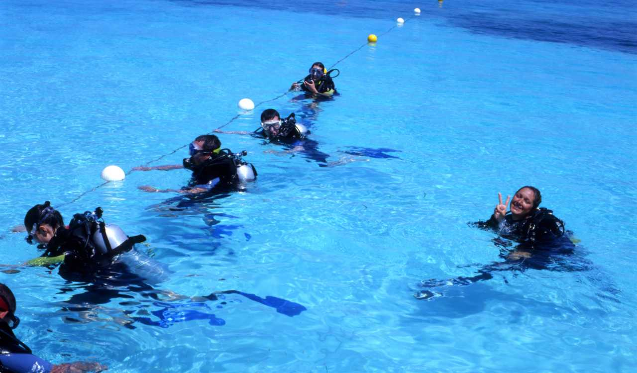 padi scuba diving courses maldives