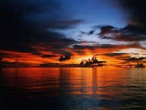 sunset cruise maldives