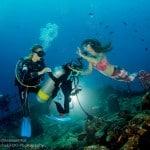 Mermaids at Vilamendhoo Maldives!