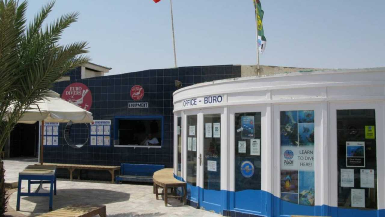 euro divers dive shop hurghada