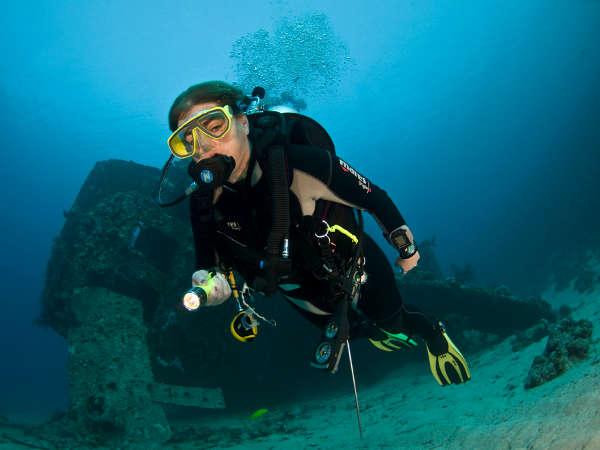 Scuba diving Oman - Wreck diving