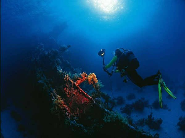 scuba diving wreck egypt