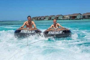 water sports tube rides maldives