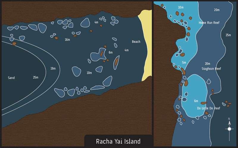 scuba diving phuket racha yai