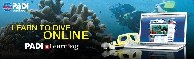 PADI elearning scuba diving club med phuket