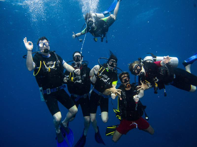 padi scuba diving maldives euro divers