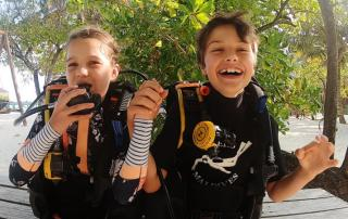 can kids learn to padi diving courses in maldives