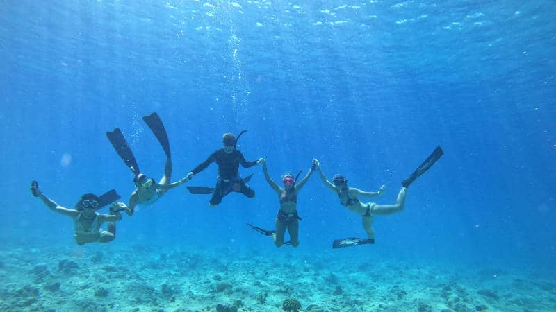 Freediving Club Med Kani Maldives