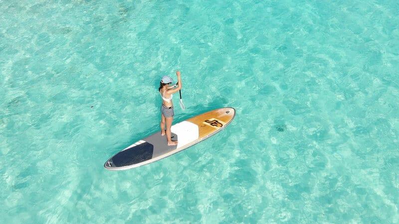 stand up paddle maldives