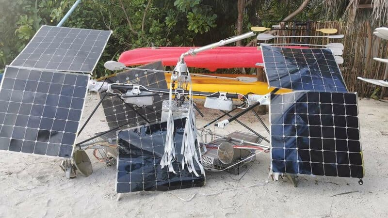 Satellite recovery in Maldives? Been there, done that ;) 4