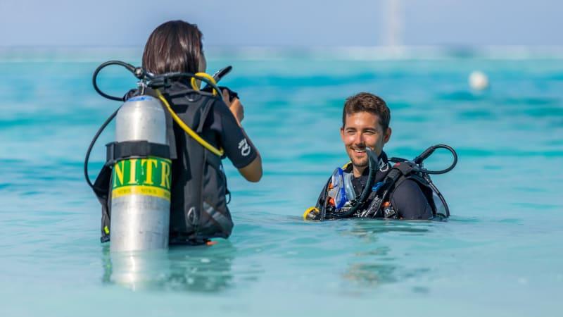 free nitrox diving