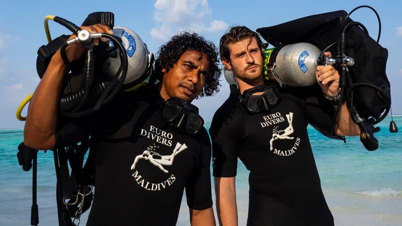 Centre de plongée aux Maldives