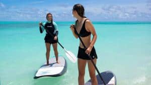 stand up paddle in maldives watersports