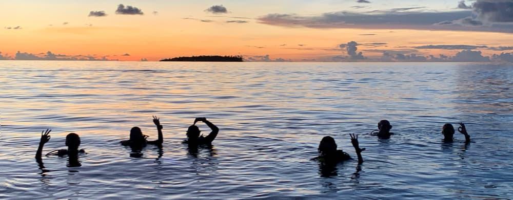 Night Scuba Diving In The Maldives 2