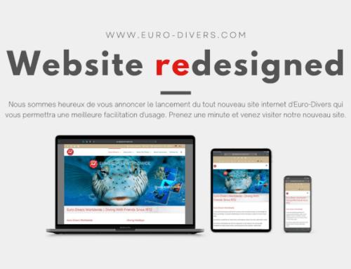 Notre nouveau site web est maintenant en ligne!