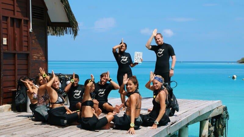 2 padi course in maldives